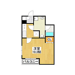 大阪府大阪市生野区小路2丁目の賃貸アパートの間取り