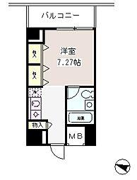 メゾン・ド・ヴィレ麻布台[6階]の間取り