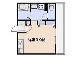 Dolce Centro[801号室]の間取り