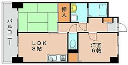 コノミビル[3階]の間取り