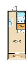 ハイツエミール[1階]の間取り
