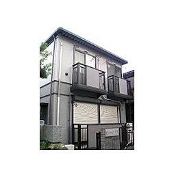 東京都豊島区上池袋2丁目の賃貸アパートの外観