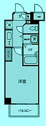 AXAS二子多摩川[3階]の間取り