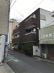 東京都杉並区下高井戸3丁目の賃貸マンションの外観