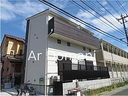 千葉県松戸市栄町西2丁目の賃貸アパートの外観