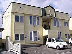 北海道函館市美原5丁目の賃貸アパートの外観
