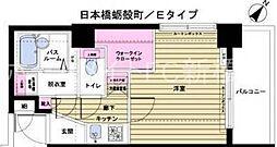 トーシンフェニックス日本橋蛎殻町[11階]の間取り