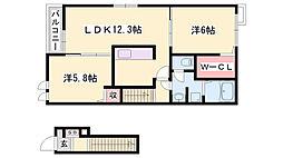 はりま勝原駅 6.6万円