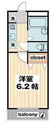 プチタミ[4階]の間取り