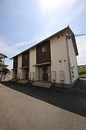 愛媛県松山市朝生田町5丁目の賃貸アパートの外観