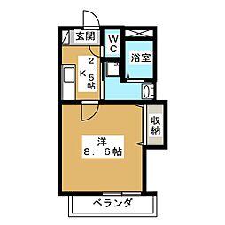 メゾン・ホープ[4階]の間取り