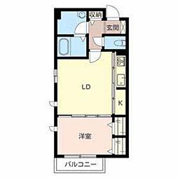 Groovin Life Sakae[2階]の間取り