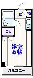 メゾン平田[303号室]の間取り