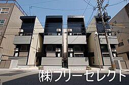 福岡県福岡市中央区港2丁目の賃貸アパートの外観