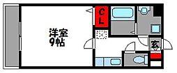 ラティーナ松香台II[5階]の間取り