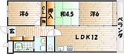 ペルル湯川新町弐番館[5階]の間取り