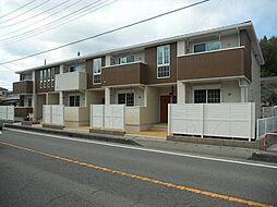 群馬県富岡市上高尾の賃貸アパートの外観