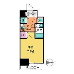comfort新栄[5階]の間取り