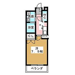 HIRO尾頭橋[4階]の間取り