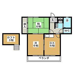 コンホートI[2階]の間取り
