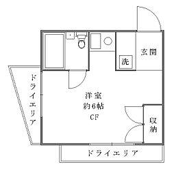 シャトレ・ナガシマ[1階]の間取り