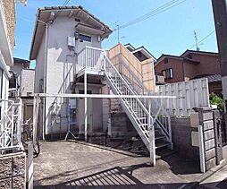 京都府京都市左京区松ケ崎西桜木町の賃貸アパートの外観
