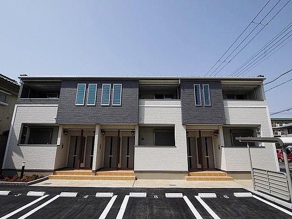 兵庫県明石市王子2丁目の賃貸アパートの外観
