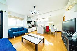 荻窪のデザイナーズハウス 3LDKの居間