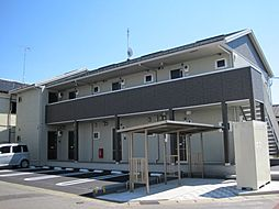 栃木県小山市乙女3丁目の賃貸アパートの外観