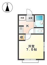 コンフォールSK[2階]の間取り