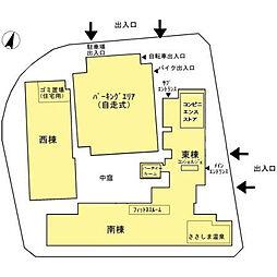 ロイヤルパークスERささしま D-room sha[4B-2号室]の外観