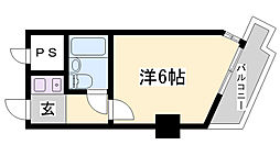 LM神戸元町第2[11階]の間取り
