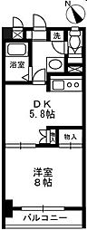 マハール南大塚[3階]の間取り