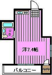 埼玉県さいたま市桜区西掘1丁目の賃貸マンションの間取り