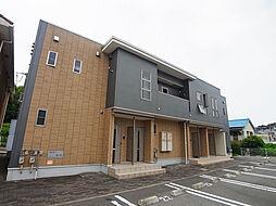 シャトーシモハタ4[2階]の外観