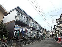 大阪府高槻市下田部町2丁目の賃貸アパートの外観