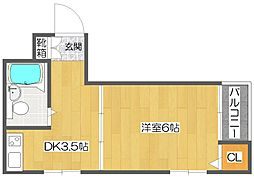 ローレルハイツ岡本[3階]の間取り