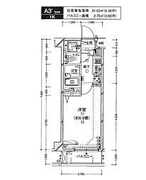 ジェネラルアパートメント常盤台[3階]の間取り