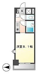 第7フクマルビル[5階]の間取り