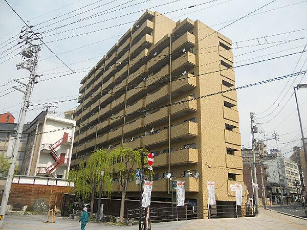 愛媛県松山市道後湯之町の賃貸マンションの外観