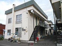 石川マンションA棟[2階]の外観