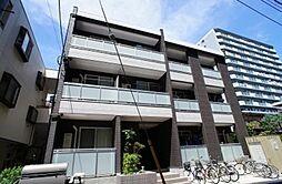 埼玉県草加市栄町2の賃貸アパートの外観