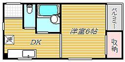 ほてい家ビル[3階]の間取り