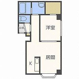 ダムズ21[3階]の間取り