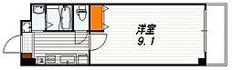 グランステージ京都四条[2階]の間取り