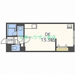 北海道札幌市東区北十九条東12の賃貸マンションの間取り