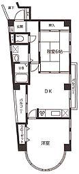 ステイタス夙川[2階]の間取り