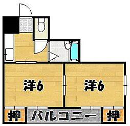 シャトレ泉台[1階]の間取り