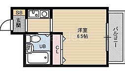 オノライトマンション[3階]の間取り
