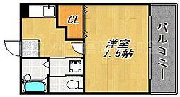 PAL七隈[1階]の間取り